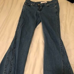 See Chloe flare jeans